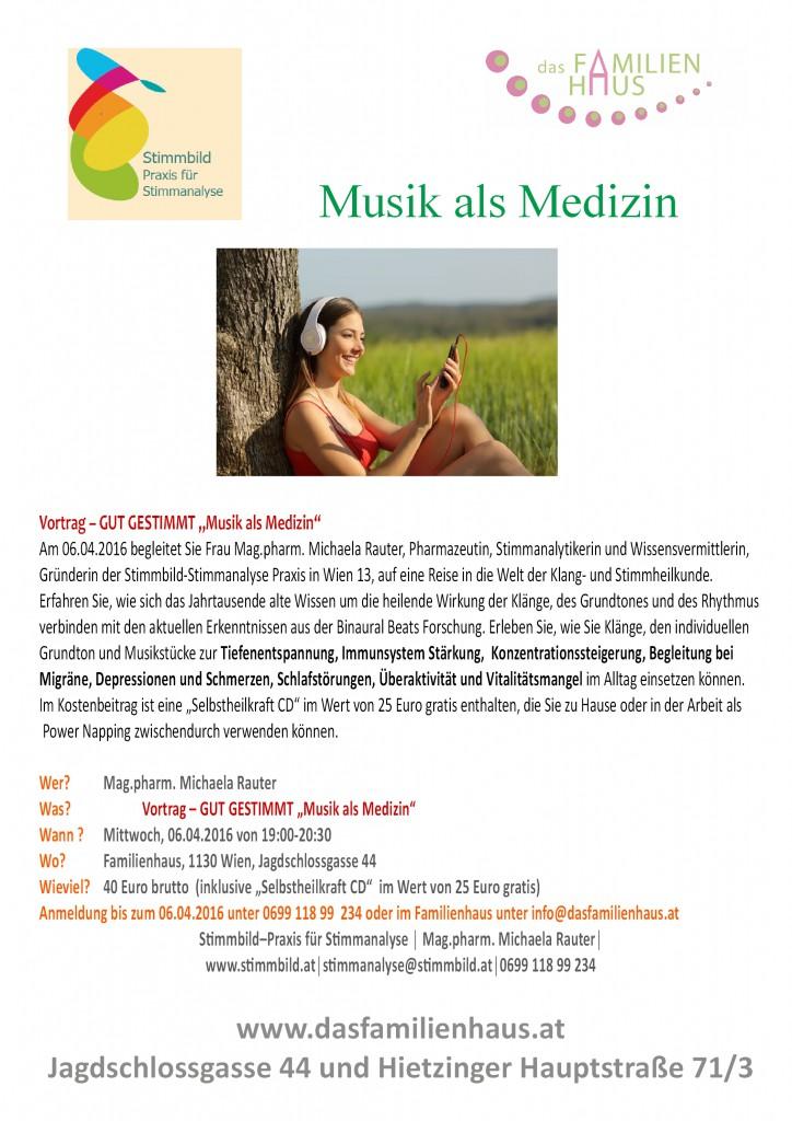Musik als Medizin