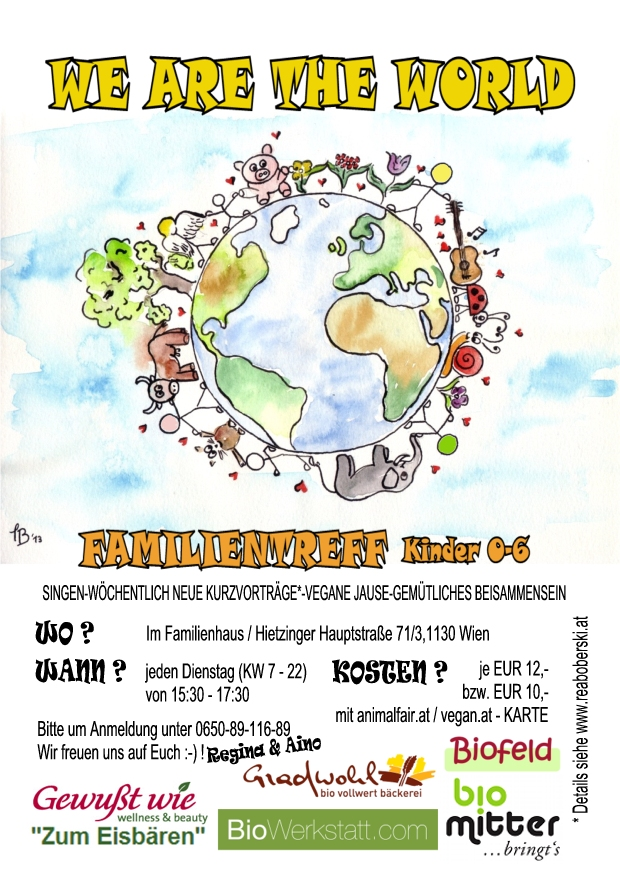 flyer we are the world 2014